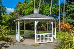 Gazebo. Historic gazebo, Foster Botanical Gardens, Honolulu, Hawaii Stock Photos
