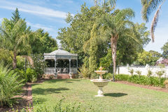 Gazebo at an historic victorian house in Robertson Stock Image