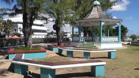 gazebo i Barbados arkivfoto