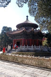 Gazebo in the Imperial Palace Yard in the Forbidden City, Beijing Stock Photo