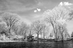 Gazebo infrarrojo Fotos de archivo libres de regalías