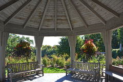 Gazebo Interior Royalty Free Stock Photography