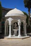 Gazebo kopuły budynek w Agia Napa Greckokatolickiej katedrze Fotografia Stock