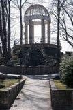 Gazebo Krasnodar Park Stock Images