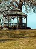 Gazebo On Lake Ontario Royalty Free Stock Photos