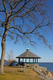Gazebo at Larchmont, New York Royalty Free Stock Image