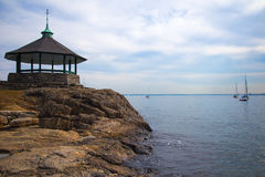 The Gazebo at Larchmont, New York Royalty Free Stock Photos