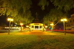 Gazebo lights Royalty Free Stock Photos