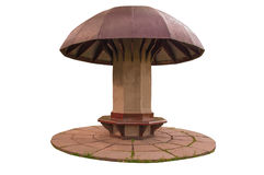 Gazebo-mushroom Royalty Free Stock Photo