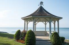 Gazebo na Jeziornym Ontario Fotografia Royalty Free