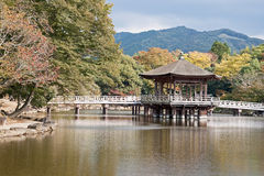 Gazebo in Nara - Japan royalty free stock photography