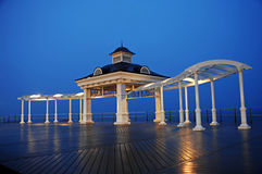 Gazebo near the sea Stock Photos