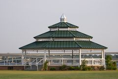 Gazebo in New Bern, NC Stock Photo