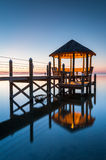 Gazebo North Carolina Outer Banks Pamlico Sound Royalty Free Stock Image