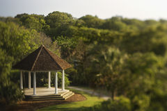 Gazebo in Park Royalty Free Stock Photography