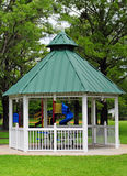 Gazebo at park Royalty Free Stock Photo
