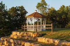 Gazebo in the park Royalty Free Stock Image