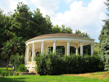 Gazebo in the park. Royalty Free Stock Image