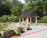Gazebo at park. Nice gazebo at public park Stock Photos