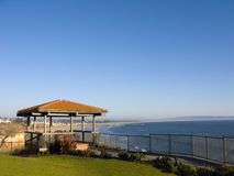 Gazebo, Pismo Beach bluffs, CA Royalty Free Stock Photo