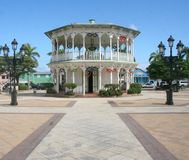 Gazebo in Puerto Plata Royalty Free Stock Photo