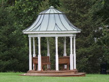 Gazebo. A Quiet Place to Sit Stock Photo