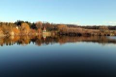 Gazebo Water Reflections Royalty Free Stock Photo