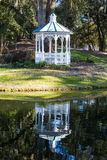Gazebo and Reflection Stock Photos