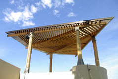 Gazebo roof Royalty Free Stock Photography