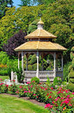 Gazebo and roses Stock Photo