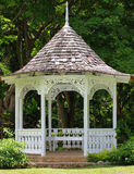 Gazebo in Shaw Park Botanical Gardens Immagine Stock