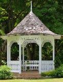 Gazebo in Shaw Park Botanical Gardens Stock Image