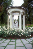 Gazebo with statuary, Huntington Library and Gardens, Pasadena, CA Stock Photo