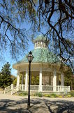 Gazebo in a summer park Royalty Free Stock Photo