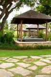 Gazebo tropical Images libres de droits
