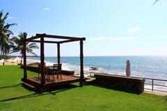 Gazebo for two, hotel Saman Villas Stock Photo