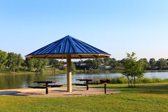 Gazebo Umbrella Royalty Free Stock Images