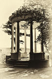 Gazebo vintage styled Royalty Free Stock Image
