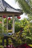 Gazebo w Bali obraz royalty free