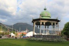 Gazebo w Bergen Fotografia Royalty Free