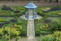 Gazebo w parku Zdjęcia Royalty Free