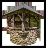 Gazebo, Water Well, Outdoor Structure Royalty Free Stock Image
