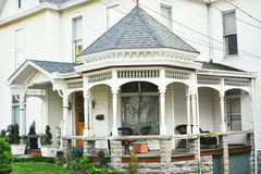 Gazebo Wrap Around Front Porch Royalty Free Stock Photo