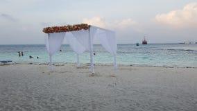 Gazebobröllop Royaltyfri Bild