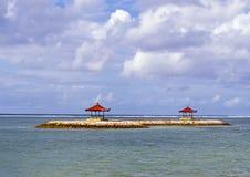 Gazebos de Balinese Images stock