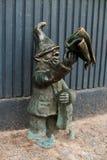Gazeciarz,Newsboy Dwarf Wroc�aw Stock Images