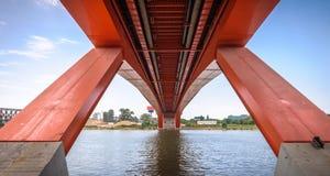Gazela-Brücke stockfotografie