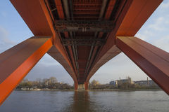 Gazela-Brücke stockbild