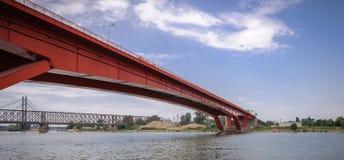 Gazela Bridge stock photography