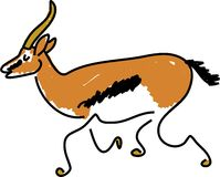 Gazelle Royalty Free Stock Photography